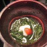 加賀屋 - モズクの酢の物