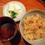 旬菜 甘の井 - ご飯セット