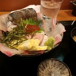 WA亭 池うえ - 海丼1500円