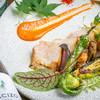 ポキート - 料理写真:白金豚の炭火焼き