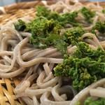 閑清居 - 花山椒と蕎麦
