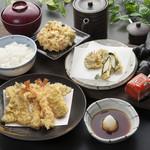天ぷら つな八 - 上天ぷら定食