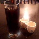 Bistro MONTE  - アイスコーヒー(2018.6)