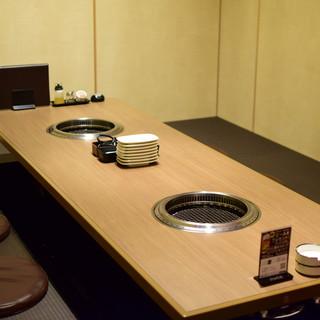 接待・デート・宴会向けの完全個室席♪