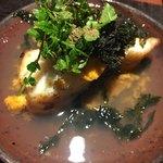 京橋もと  - 料理写真:マナガツオのいちご煮