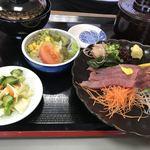 うなぎ 錦水 - ☆かつおのお刺身定食☆