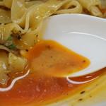 88621905 - 汁なし坦々麺のタレ