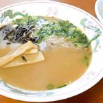 かしわの武内 - 魚介醤油ラーメン