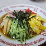 松の食堂 - 料理写真:冷やし中華(¥700)