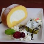 山辺スイーツカフェ - ランチのデザート