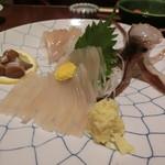 活魚料理 いか清 - 「活真いか」1,480円