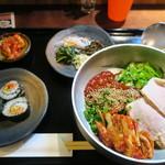 楽韓堂 - ピビン冷麺定食