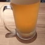 小豆島ラーメンHISHIO - 生ビール