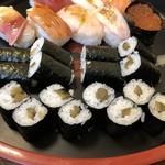 福寿司 - 新香巻