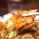 えぞ松 - ホイコーロ定食