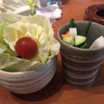 串かつ料理 活 - 付き出しのサラダ byゼッペキ