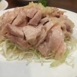 栄華楼 - 蒸し鶏