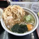 山田うどん - H30.6 天玉うどん