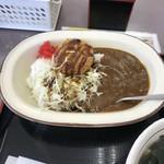 山田うどん - H30.6再 カレーセット+カレーコロッケ