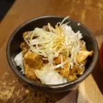 つけめん・らーめん 海老鶏麺蔵 - 特製チャーシュー丼