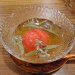 やき鳥 たかはし - 平塚産フルーツトマト