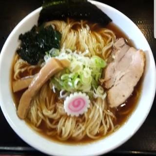 つけ麺丸和 - 料理写真:中華そば大盛 (嘉六スープ) 700円