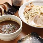 鐵 - あつあつの濃厚つけ汁に自家製麺がよく絡む『魚介系濃厚つけ麺』
