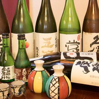 腕利き光る、海鮮料理と日本酒のあわせ技
