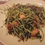 スリランカ料理 ラサハラ - 豆苗テンパラード