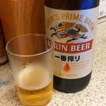 88644774 - 瓶ビール(一番搾り)