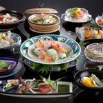 シェラトン都ホテル大阪 日本料理 うえまち - 料理長おすすめ懐石「からたち」