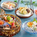 シェラトン都ホテル大阪 日本料理 うえまち - 竹かご弁当