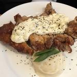 神田ビストロ style - 新ランチ友の鶏もも肉の一枚唐揚げ