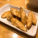 88648669 - ①マコモダケの蝦子(えびの卵)炒め780円
