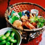 京都ぎをん 八咫 - 枝豆とおつまみセット