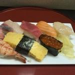味館食堂 - 料理写真:上にぎり\1400