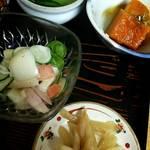 喫茶&お食事 セカンド - 小鉢 4種