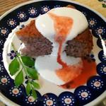 サルンポヮク - 米粉のベリーケーキ
