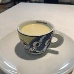地球星 - 冷製とうもろこしスープ