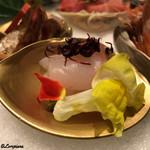 お料理 七草 - 石投