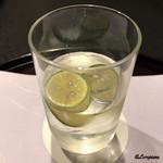 お料理 七草 - 柚子入りの和らぎ水