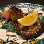 お料理 七草 - アブラボウズのカマの照焼と天恵菇