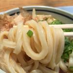うどん処しんせい - 麺質がシッカリとした感じに変わった・・・かな^^美味い!