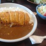レストラン 戸々魯 - カツカレー(トンカツは、三元豚ではないそう)