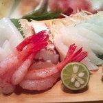 かわなみ鮨 - 甘えび、すずき、白イカ、蛸