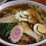 佐藤ラーメン店 - とりチャーシュー麺¥750-