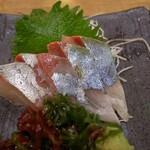 魚や一丁 - かんぱち刺身