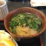 Sakesakanaomata - 具沢山のみそ汁