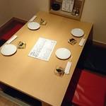 創作酒房 十六夜 - テーブル席