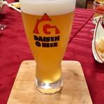 カフェ・イン・ザ・パーク - 大山Gビール/ヴァイツェン